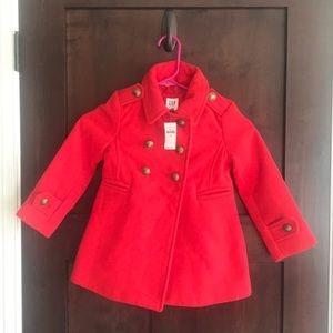 Girls Gap Pea Coat